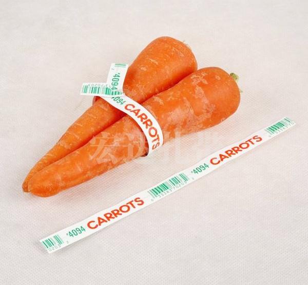 纸质蔬菜扎带