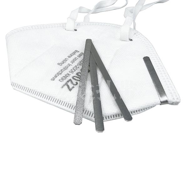 铝材质口罩鼻梁条 用于KN95/N95口罩