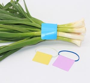 橡皮圈标签蔬菜捆扎带